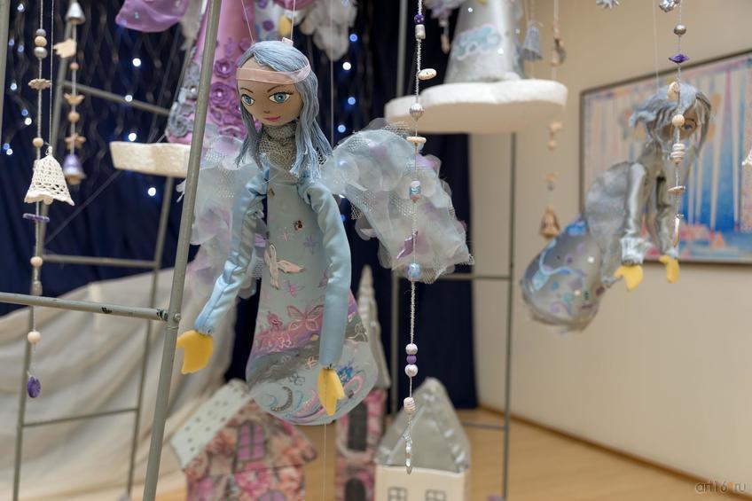 Фото №871569. Фрагмент экспозиции выставки «Новогоднее волшебство Ангелов»