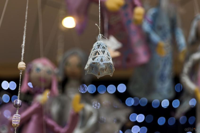 Фото №871581. Фрагмент экспозиции выставки «Новогоднее волшебство Ангелов»