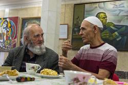 Владимир Попов и Ильдар Ханов. Чаепитие. 12.11.2011