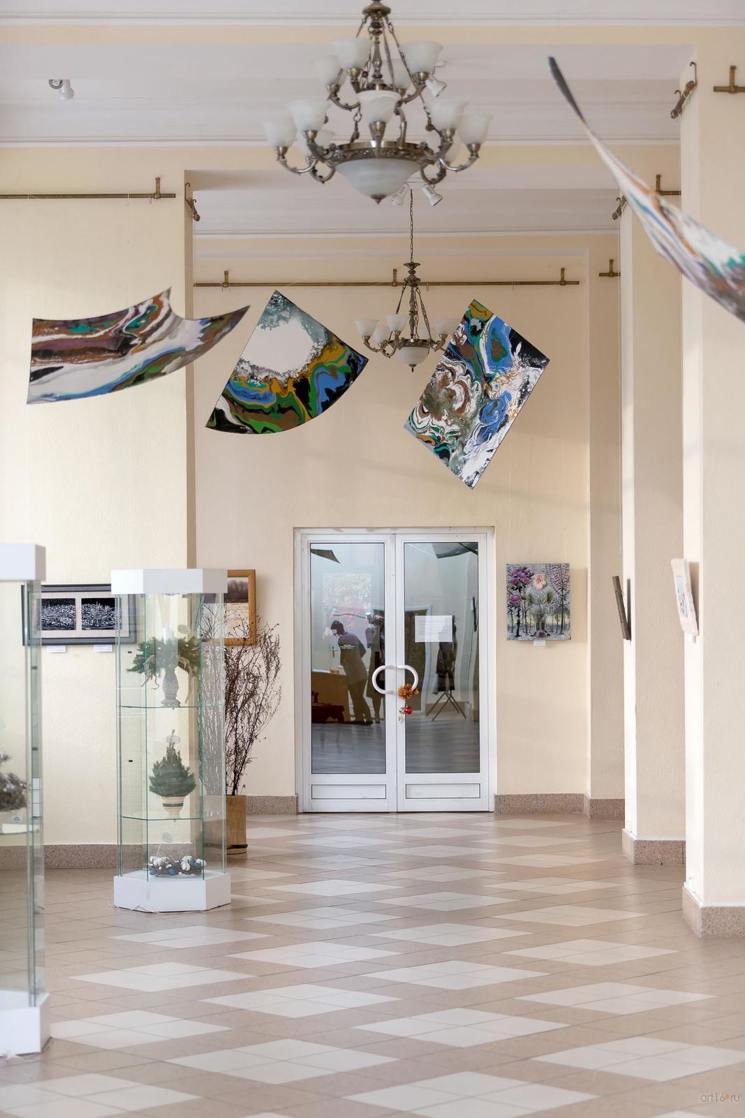 Фото №872989. Фрагмент экспозиции выставки «Полет над Черным озером»