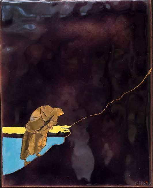 В гору. 2015. Р. Сафиуллин::Полет над Черным озером. Рашит, Чингиз и Анастасия Сафиуллины