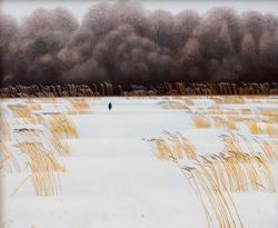 Дорога к лесу. 1985. Р.Сафиуллин