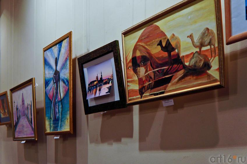 Работы Татьяны Тэнчь. Фрагмент экспозиции выставки