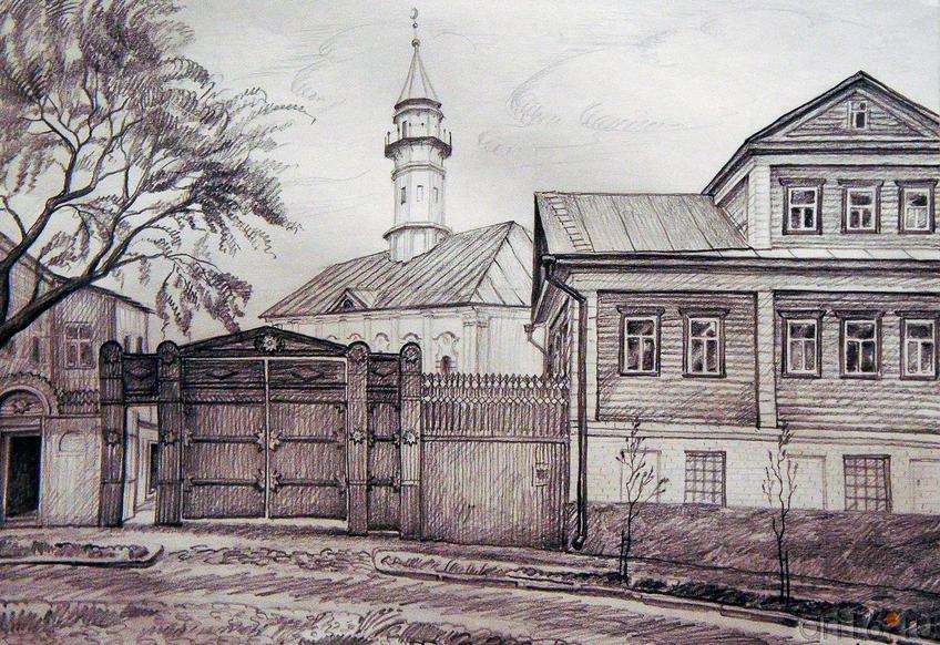 Казань. Старотатарская слобода. 2004. Рушан Шамсутдинов