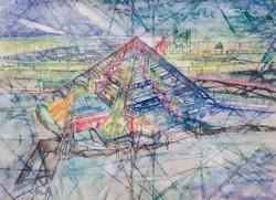 Казанская пирамида. 2005. Лада Аюдаг
