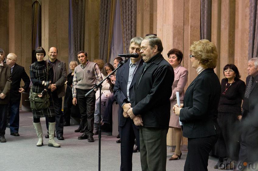 Фото №87471. Фарид Харисович Якупов . Поздравления от имени Союза Художников РТ