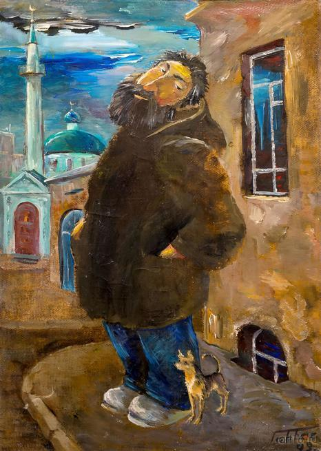 Прогулка. 2009. Габбасов Рустам::Рустам Габбасов. Скульптура, живопись. Выставка