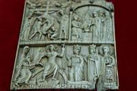 Пластинка с изображением евангельских сцен. Испания, мастер Раймунд. Ок. 1100