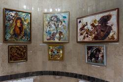 Фрагмент Экспозиции выставки Е.Острой