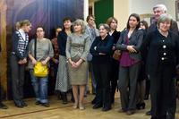 На открытии выставки ''Испанское искусство из собрания Государственного эрмитажа''