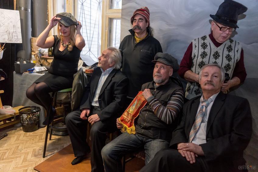Фото №877923. Е.Острая, А.Купцов, В.Тимофеев, Э. Хакимов, М.Соколов