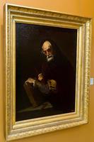 Философ с книгой, циркулем и угольником. 1630-е. Хусепе де Рибера и мастерская