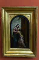 Встреча Марии и Елизаветы. 1630-1635. Хуан Дель Кастильо.