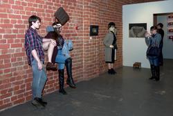 На выставке «Женское»