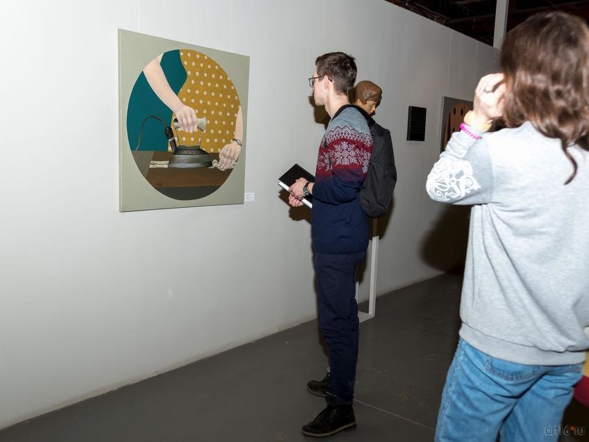 На выставке «Женское»::Творческая встреча с Ильгизаром Хасановым