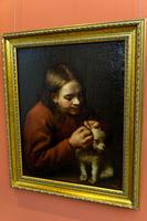 Мальчик, ищущий у собаки болх. 1650-е.Педро Нуньес де Вильявисенсио