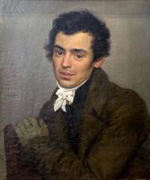 Портрет архитектора К.А.Тона. 1828. Брюллов К.П.