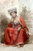 Итальянка из Фраскати. 1828-1829. Брюллов К.П.