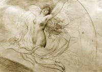 Венера — утренняя заря. Эскиз композиции. 1835(?). Брюллов К.П.