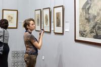 На выставке К.П.Брюллова
