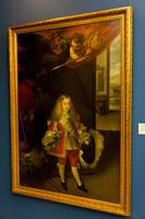 Портрет Карлоса II в детстве. 1667-1669.  Себастьян Эррера Барнуэво