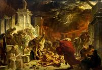 Последний день Помпеи. 1828. Брюллов К.П.