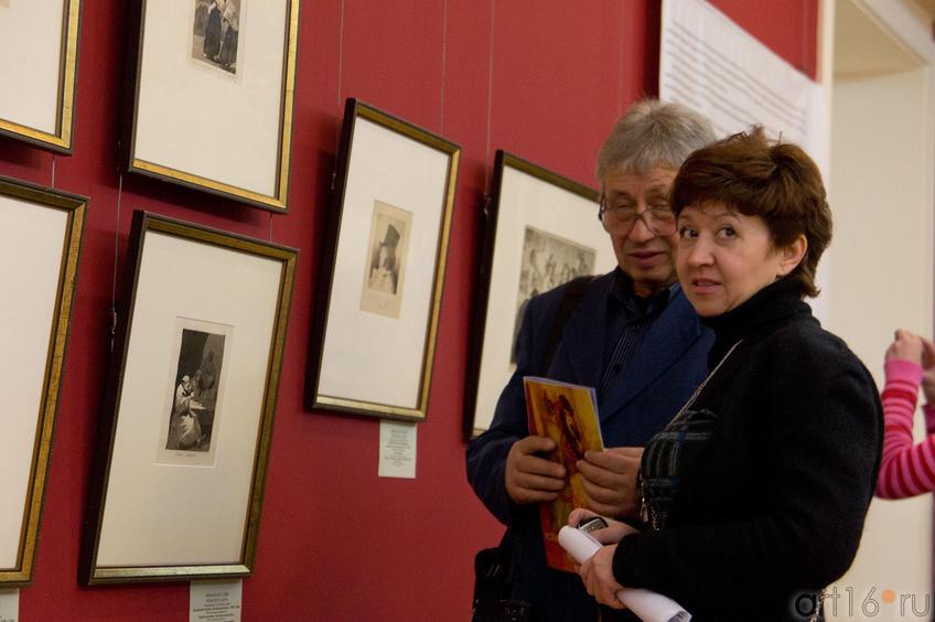 У работ Франсиско Гойи на выставке Испанское искусство из собрания Государственного Эрмитажа