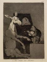Точь-в-точь. 1797-1798. 41 лист серии ''Капричос''. Франсиско Гойя.