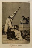 Из той пыли. 1797-1798. 23 лист серии ''Капричос''. Франсиско Гойя.