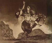 Неукротимая глупость. Ок. 1815-1824. Франсиско Гойя.Фуэндетодос 1746 -Бордо.1828