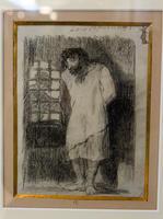 Сумасшедший африканец. 1824-1828. Франсиско Гойя.Фуэндетодос 1746 -Бордо.1828