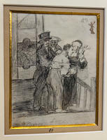 Перед казнью. 1824 - 1828. Франсиско Гойя.Фуэндетодос 1746 -Бордо.1828