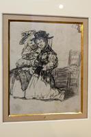 Две женщины в церкви. 1824-1828. Франсиско Гойя.Фуэндетодос 1746 -Бордо.1828