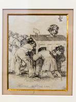 Смотрящие на то, что они не в состоянии увидеть. 1824-1828. Франсиско Гойя.Фуэндетодос 1746 -Бордо.1828