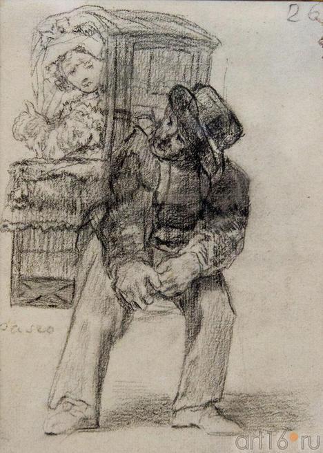 Прогулка. 1824-1828. Франсиско Гойя.Фуэндетодос 1746 -Бордо.1828