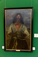 Отшельник. 1904. Игнасио Сулоага. 1870, Эйбар, Гипускоа  - 1945, Мадрид