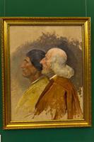 Два сенатора. 1870-1880-е ''Триумф Догарессы Фоскари''. Хосе Вильегас Кордеро
