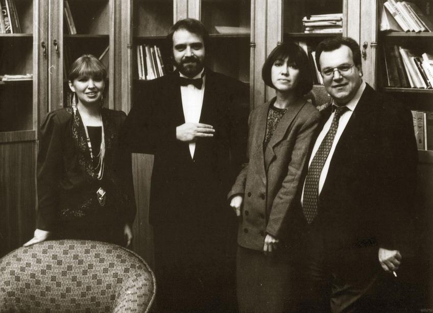 Фото №880219. Гастроли Театра Антона Чехова в Казани, 1993г.
