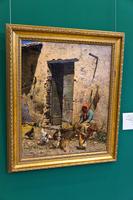 Птичий двор, 2-я пол. XIXв. Рамон Тускец Меньон. 1837, Барселона -1904, Рим