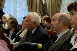 На презентации книги А.Кабакова и Е.Попова «Беседы об Аксенове»