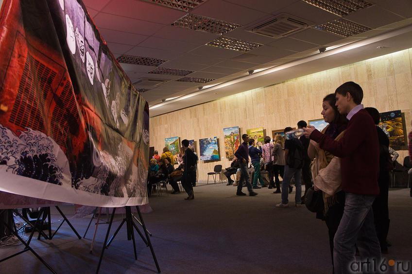 Фото №88243. В выставвочном зале НКЦ «Казань» на выставке А.Шаймарданова