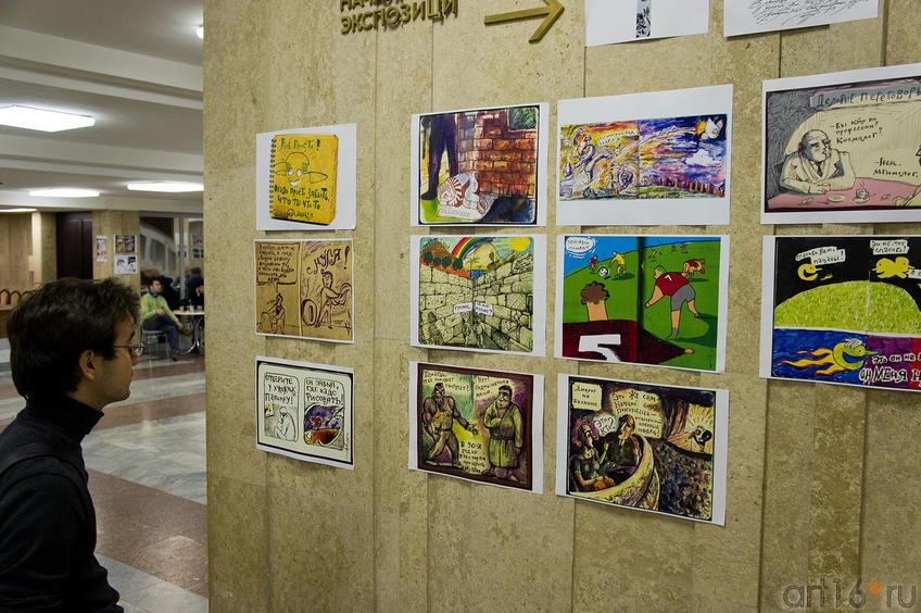 Фото №88253. Графика на фестивале «Трипфест - 2011», Казань