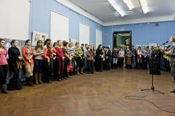 Открытие выставки ''Укиё-э: искусство изменчивого мира''