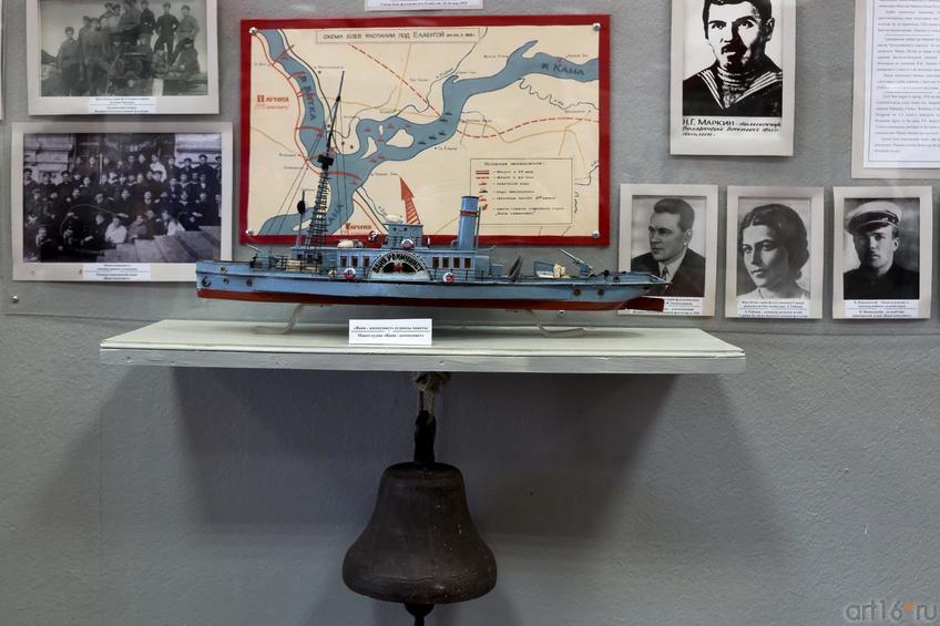 Фото №883102. Макет судна «Ваня — коммунист»