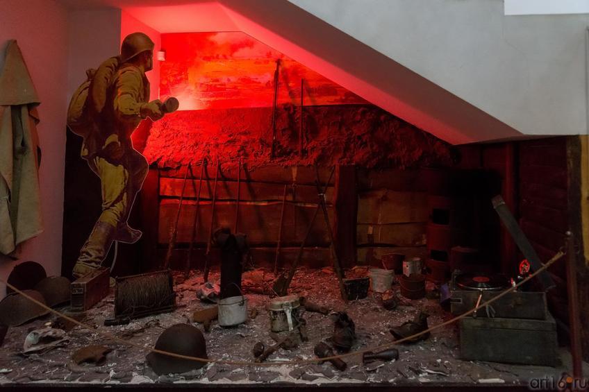 Фото №883126. Фрагмент экспозиции «Участие челнинцев в Великой Отечественной войне»