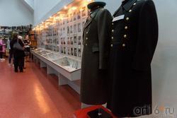 Фрагмент эксмпозиции «Участие челнинцев в Великой Отечественной войне и военных действиях в Афганистане и Чечне»
