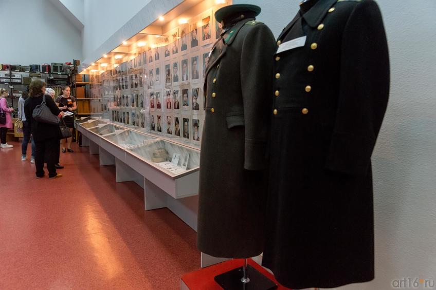 Фото №883130. Фрагмент эксмпозиции «Участие челнинцев в Великой Отечественной войне и военных действиях в Афганистане и Чечне»