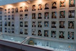 Фрагмент экспозиции «Участие челнинцев в военных действиях в Афганистане и Чечне»