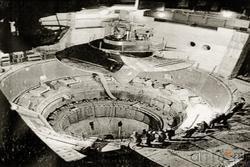 Установка первого гидроагрегата. 1979