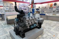 Фрагмент экспозиции «Камаз и город»
